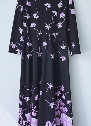 Платье в пол макси миди