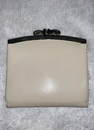 Винтажный кожаные кошелёк