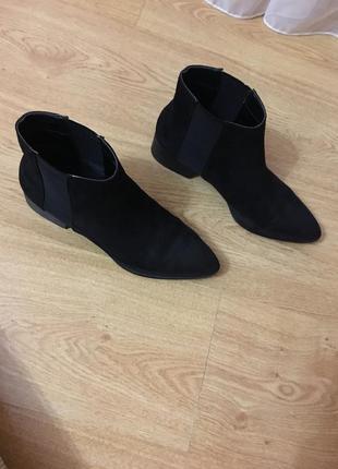 Hsm ботинки короткие на низком каблуке