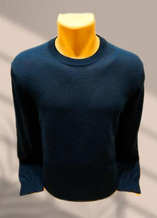 Тонкий шерстяной пуловер (итальянская тонкая шерсть) stefano conti