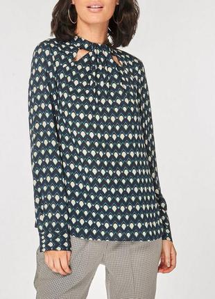 Блуза с принтом zara