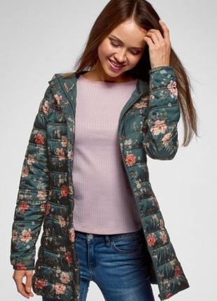 Куртка жіноча зелена oodji