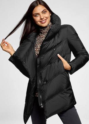 Куртка жіноча чорна oodji