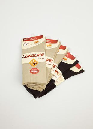 Бавовняні носки longlife nur die розмір 35-38, 39-42