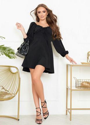 Платье с длинеым рукавом