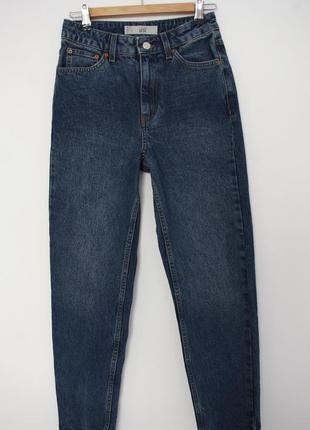 Идеальные мом джинсы бойфренд на высокой посадке topshop