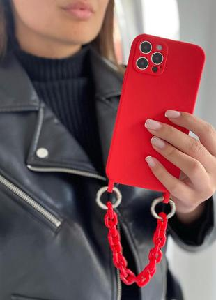 Чехол на шнурку, чехол с цепочкой для iphone