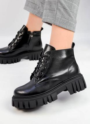 Зимние женские ботинки, ботинки женские, ботинки зима, ботинки зимние кожаные, ботинки кожаные