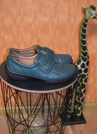 4 1/2 р. европа🇪🇺 hotter. кожа . фирменные качественные комфортные туфли