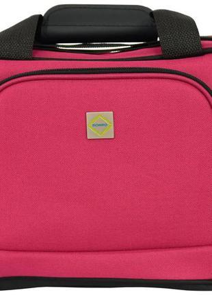 Дорожная сумка тканевая bonro best (вишневая / pink)