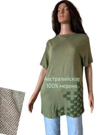 Австралийское мерино шерстяная футболка мериносовая 100% шерсть термобелье biocompatibles
