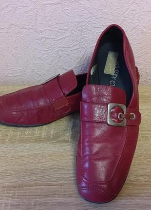 Красивые туфли superflex  натуральная кожа испания   акция 1+1=3