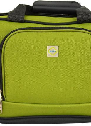 Дорожная сумка тканевая bonro best (зеленая / green)