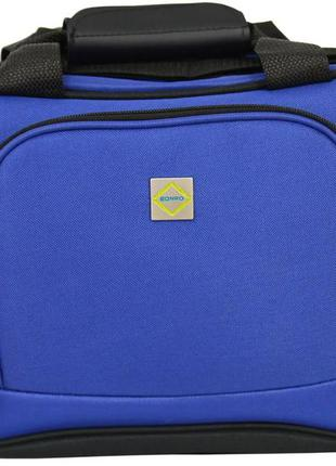 Дорожная сумка тканевая bonro best (синяя / blue)