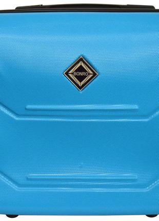 Кейс дорожный пластиковый мини xs bonro 147 (голубой / blue)