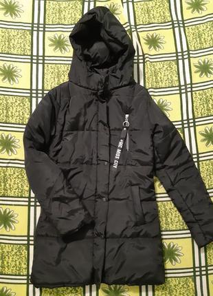 Куртка anfisa еврозима черная