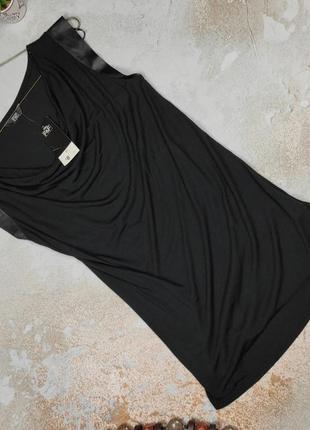 Блуза туника футболка новая натуральная трикотажная f&f uk 6/34/xs