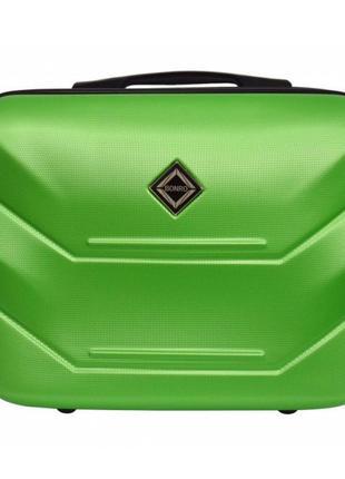 Кейс дорожный пластиковый мини xs bonro 147 (салатовый / green)