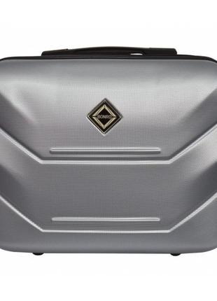 Кейс дорожный пластиковый мини xs bonro 147 (серебряный / silver)