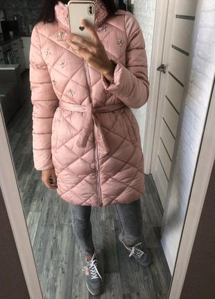 Женская зимняя куртка, пуховик, зимнее пальто
