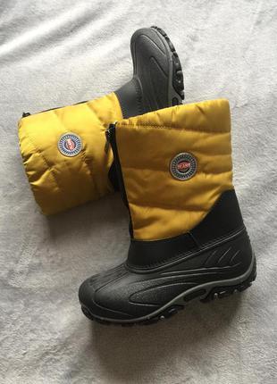 Olang италия новые зимние сапоги сноубутсы снегоходы 33-34