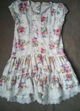 Стильне плаття next 3-4 роки кол 15