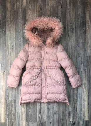 Зимняя куртка grace, зимний пуховик для девочки