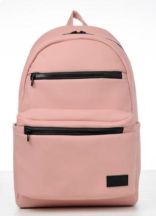 Очень вместительный рюкзак в цвете пудра для активного образа жизни