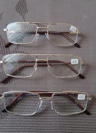 Очки для чтения, работы, постоянного ношения.