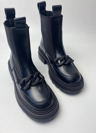 Женские ботинки кожа осень🍁зима❄️ 2021