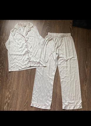 Пижама,пижамный костюм ,штаны ,кофта в полосочку ,полоску ,клетку