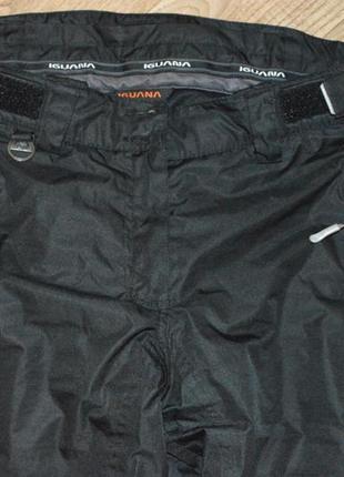 Термобрюки лыжные штаны брюки iguana (германия)2 фото