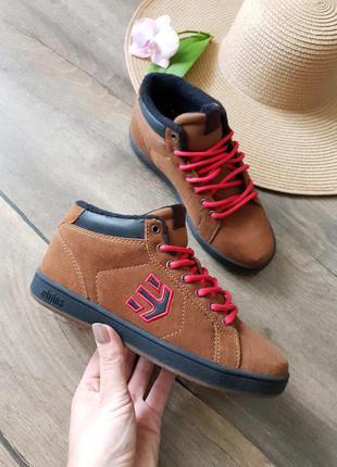 Ботинки, кроссовки демисезон etnies, сша 35размер