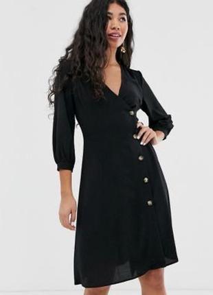 Платье под пояс,чёрный цвет,ceorge