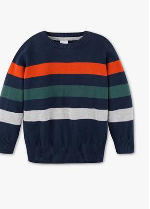 Хлопковый свитер c&a cunda