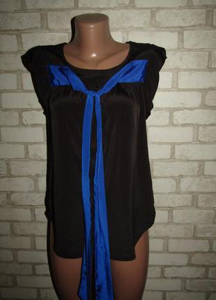 Базовая блуза р-р 36-s бренд vero moda