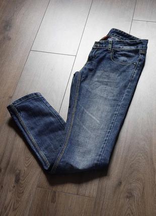 Сині джинси завужені низька посадка yes miss