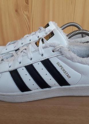 Кросівки adidas, кожа, утеплені