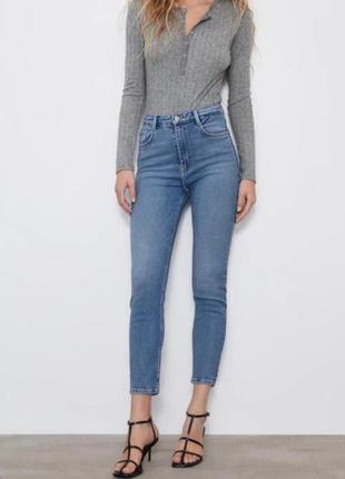Джинсы zara джинсы скинни зара