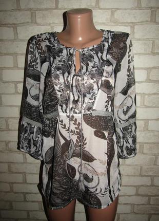 Легкая блузочка р-р м бренд vero moda
