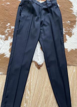 Massimo dutti брюки синий классика 36 s