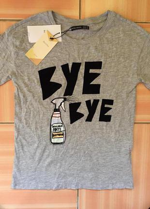 Нова модель футболки bershka-bskgirl