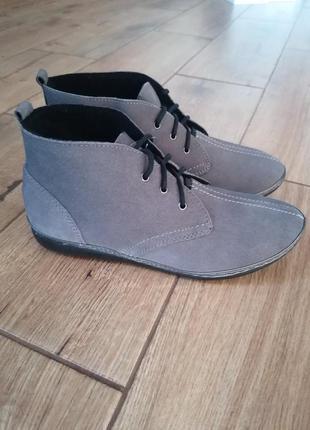 Замшевые ботинки inblu