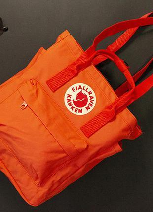 Сумка-рюкзак канкен цвет: оранжевый