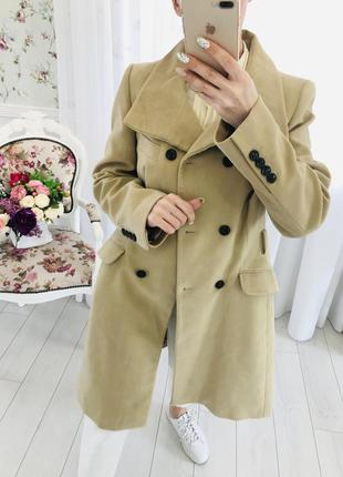 Karen millen демисезонное пальто тренч кемел кэмел