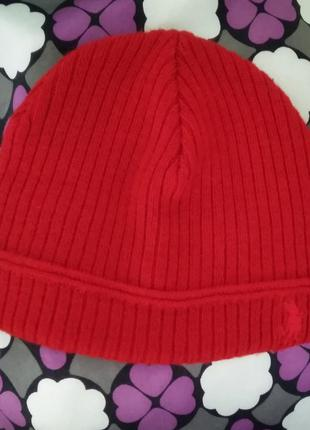 Красная шерстяная шапка ladysoyl