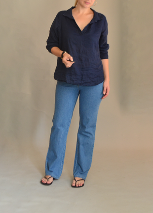 5268\140 голубые джинсы western l
