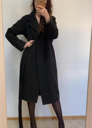 Потрясающее теплое пальто в стиле max mara