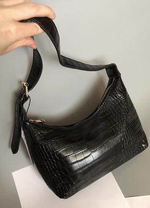 Новая крутая сумка багет sinsay