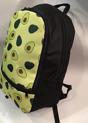 Новый рюкзак с авокадо,средний принт